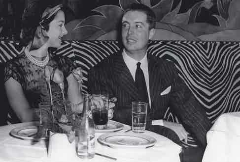Pictured together at El Morocco in New York (Photo by Mondadori via Getty Images)