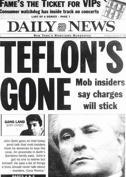 Making front page news in 1990 (Photo by NY Daily News Archive via Getty Images)
