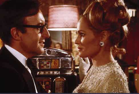 Ursula Andress and Peter Sellers. (Photo courtesy Granamour Weems Collection and via Alamy)