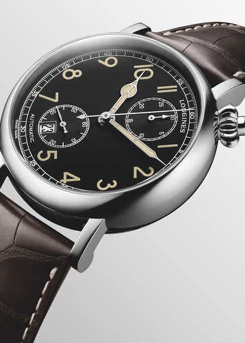 Part of the Longines Spirit collection, the L2.812.4.53.2