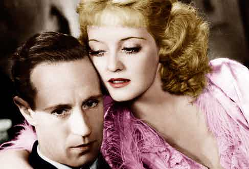 Leslie Howard and Bette Davis in Of Human Bondage in 1934 (Photo by Everett/REX Shutterstock (2055501a)