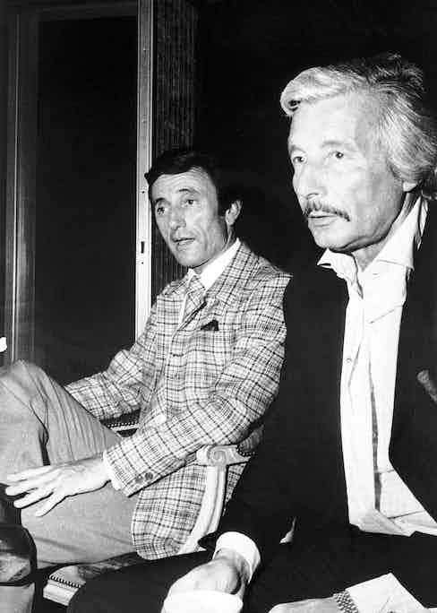 Guy Laroche with Oleg in 1969 Photo by Sipa Press/REX (579165a)