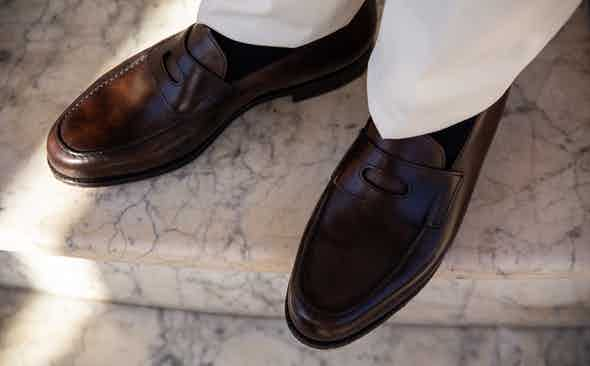 The More Masculine Type of Penny Loafer