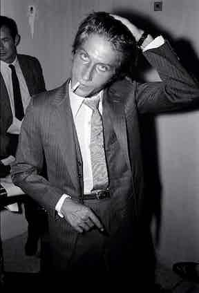 Fixing his hair in Deauville, 1967 (Photo by REPORTERS ASSOCIES/Gamma-Rapho via Getty Images)