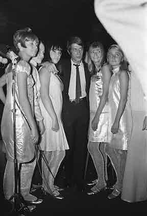 Dutronc at The Bilboquet, 1966 (Photo by Jean-Claude Deutsch/Paris Match via Getty Images)