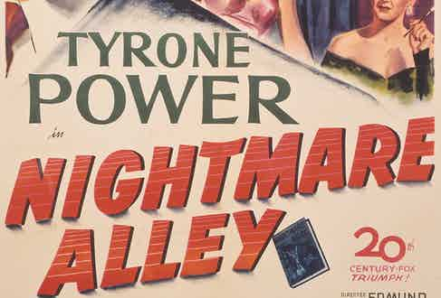 Film poster, Nightmare Alley, 1947 (Photo by Movie Poster Image Art/Getty Images)