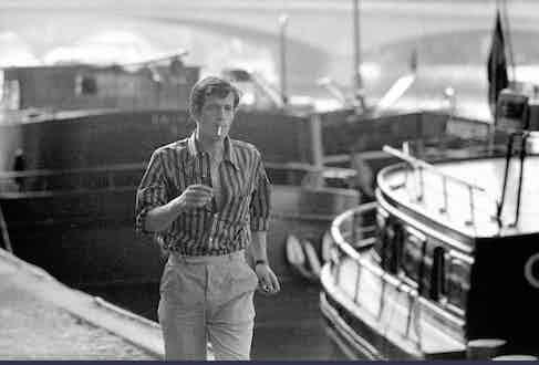 Jean-Paul Belmondo, Paris, 1960