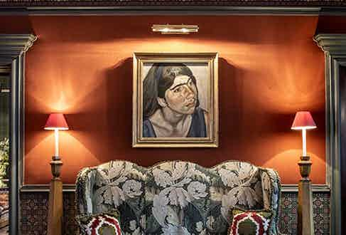 The Fife Arms - Child Portrait (Annie) by Lucian Freud.