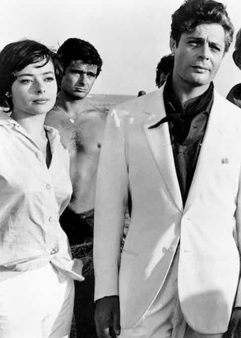 Marcello Mastroianni, La Dolce Vita, 1960