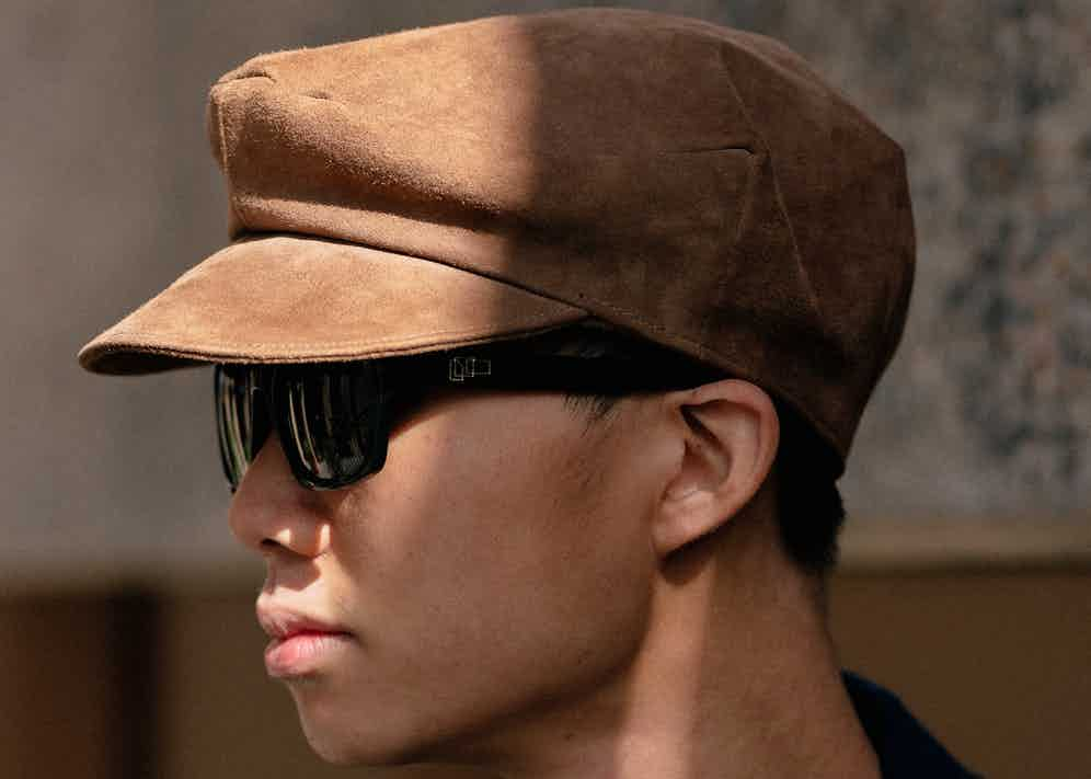 Buzz Tang, Co-founder of The Anthology wearing The Reference Library sunglasses. (Photo by Alex Natt)