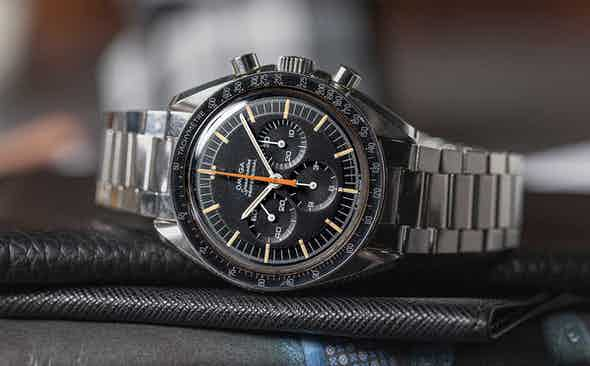 The Rake Offers Two of The Rarest Vintage Omega Speedmasters