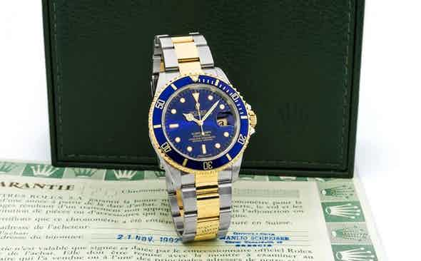 The Evolution of the Rolex Submariner Date