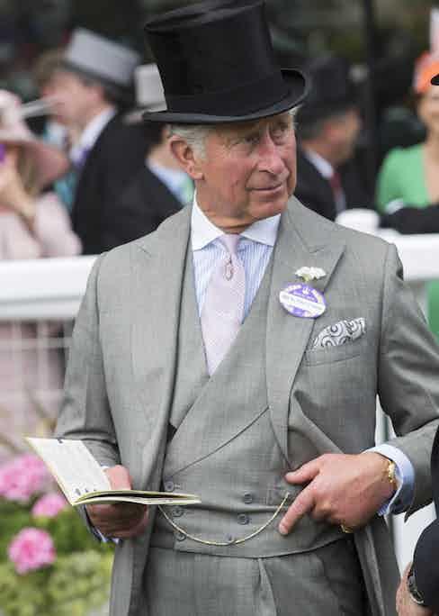 Prince Charles at Royal Ascot