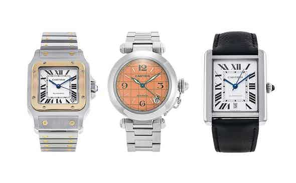 A Cartier Selection with Watchfinder & Co.