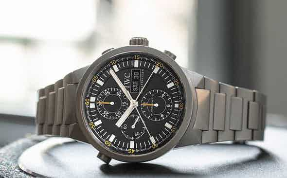 IWC GST Chrono Rattrapante