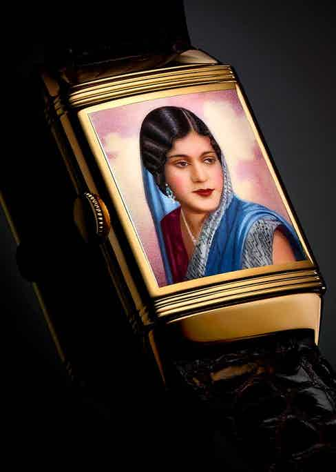 A 1936 Reverso with the portrait of Maharani Kanchan Prabha Devi of Tripura