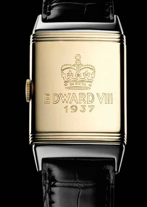 Edward VIII's watch that was engraved slightly prematurely - by 1937 he was no longer King, merely the Duke of Windsor.