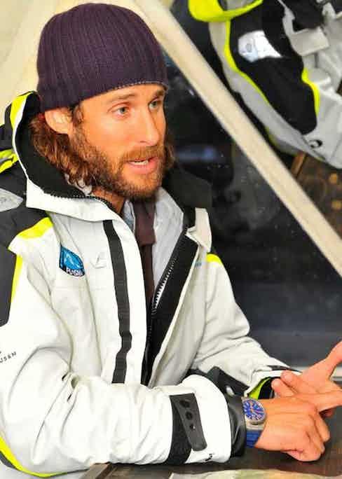 British adventurer, ecologist and environmentalist David de Rothschild