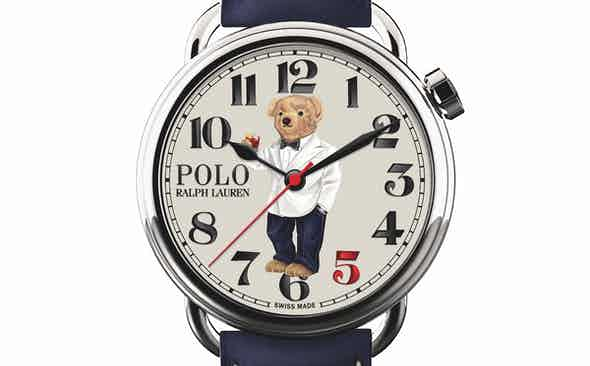 Ralph Lauren for The Rake 'Bearfoot Negroni Bear' watch