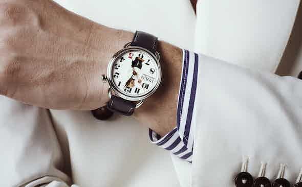 Ralph Lauren for The Rake 'Bearfoot Negroni Bear' watch
