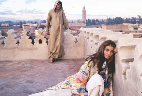 Talitha and Paul Getty, Jr. in Morocco, 1970 (Image by © Condé Nast Archive/Corbis)