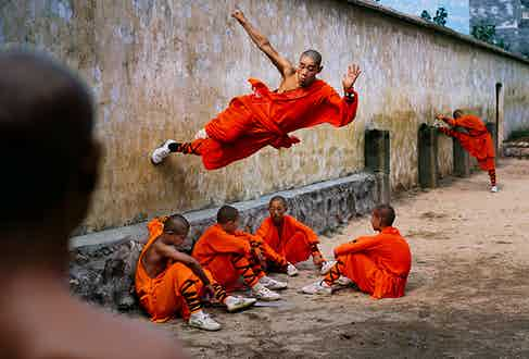 Steve McCurry: Shaolin Monastery. Henan Province, China 2004 © Steve McCurry courtesy of the Ernst Leitz Museum, Wetzlar 2021