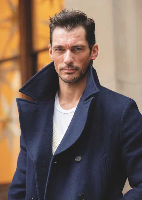David Gandy at London Fashion Week in 2019 (Photo by Kirstin Sinclair/Getty Images)