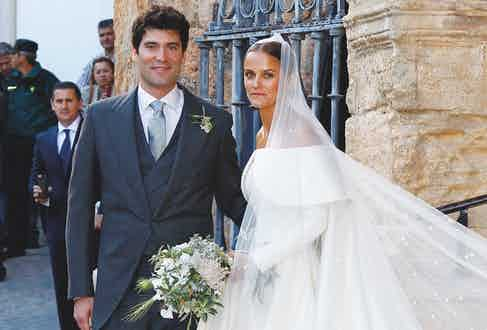 Alejandro Santo Domingo, the current de facto head of the family, at his wedding to Charlotte Wellesley, the daughter of the Duke of Wellington, in 2016 (Photo by Europa Press/Europa Press via Getty Images)