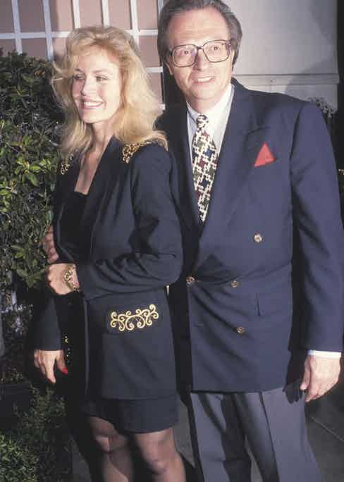 With his sixth wife, Julia Alexander, in Beverly Hills (Photo by Ron Galella/Ron Galella Collection via Getty Images)