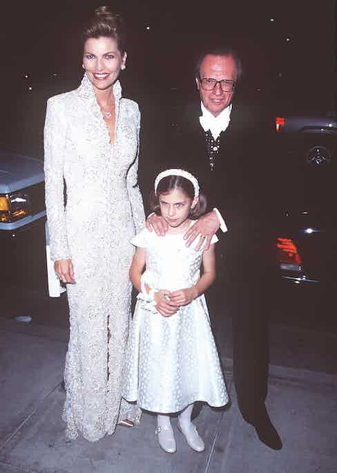 At their wedding reception in 1997 (Photo by SGranitz/WireImage)