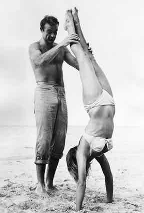 Sean Connery and Ursula Andress in Dr. No, 1962 (Photo via Alamy)