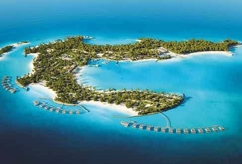 Image from the Fari Islands resort in the Maldives.