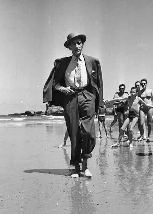 Jean Cocteau in Biarritz, 1949