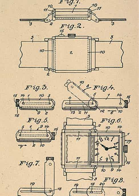 The patent for the Reverso