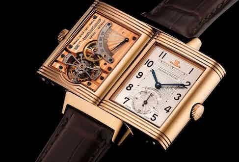 Jaeger-LeCoultre's first tourbillon wristwatch from 1993