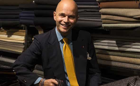 The Liberation Of Rubinacci's Vintage Cloth Archive
