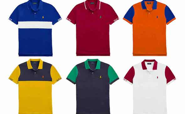 Ralph Lauren unveils made-to-order polo