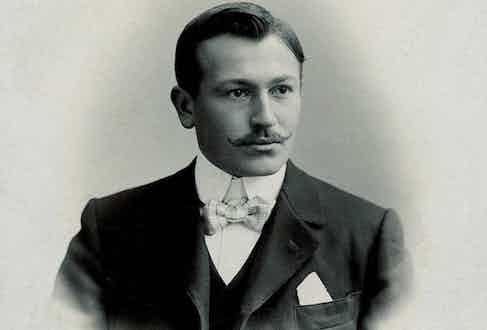 Hans Wilsdorf, the founder of Rolex and Tudor