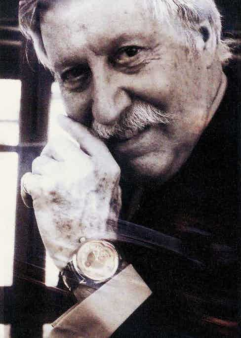 Swiss watch designer and artist, Gerald Genta