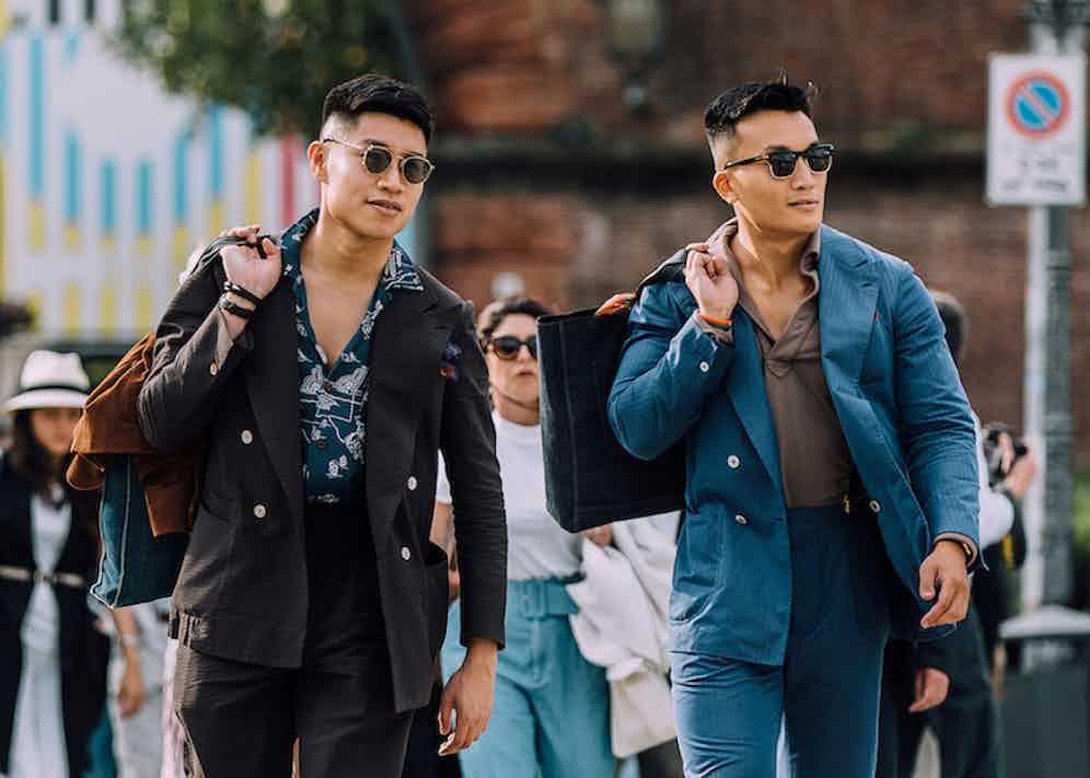 Tobe Fong (right)