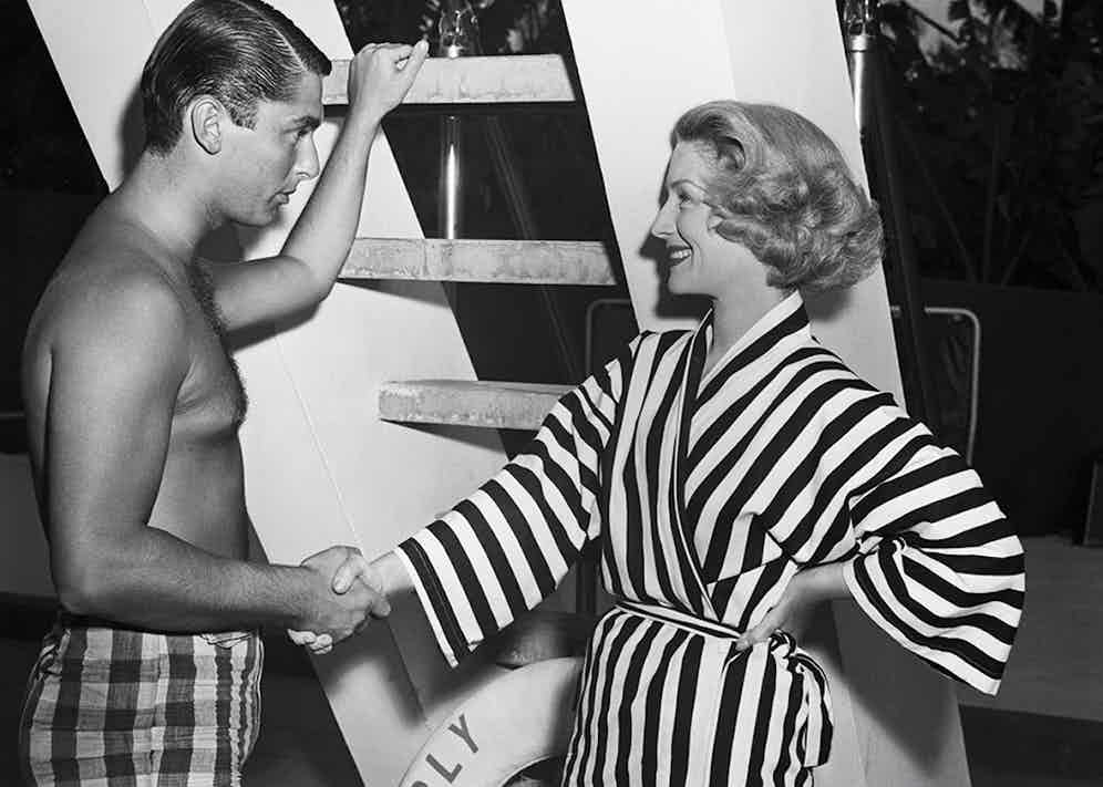 Norma Shearer and Robert Evans (Photo via Getty)