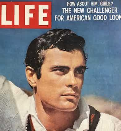Gardner McKay on the cover of Life Magazine, 1959. Image courtesy of Madeleine McKay.