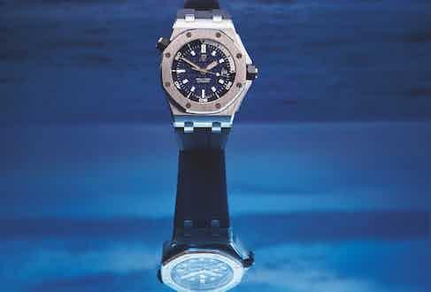 Navy blue 42mm Royal Oak Offshore Diver, Audemars Piguet