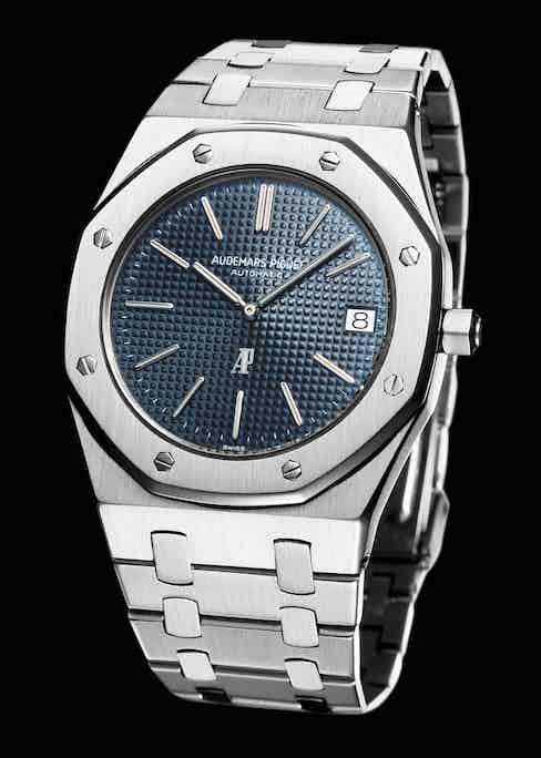The 1972 Royal Oak helped ennoble steel towards the status of gold. Ref. 5402.