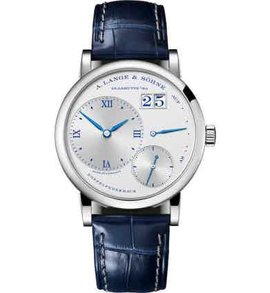 """LITTLE LANGE 1 """"25th Anniversary ref. 181.066; 36.80mm; 25-piece limited edition; launched in March 2019"""
