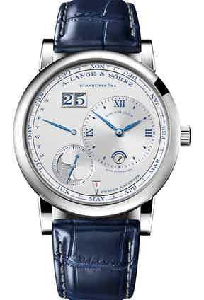 """LANGE 1 TOURBILLON PERPETUAL CALENDAR """"25th Anniversary"""" ref. 720.066; 41.90mm; 25-piece limited edition; launched April 2019"""