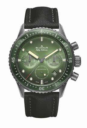 And Blancpain's Fifty Fathoms Bathyscaphe Chronographe Flyback