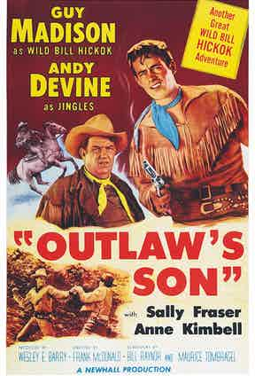 Poster of the Outlaw's Son (1954) (Photo by LMPC via Getty Images)