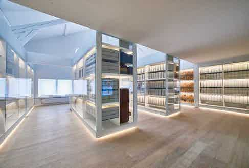 The Heritage Gallery displays the maison's  key innovations, important calibres and other archives