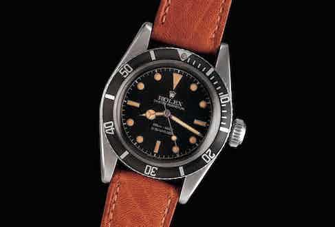 Rolex Submariner reference 6538 (Image: Antiquorum)